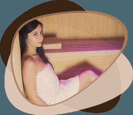 Infra savna Wellness Victoria Ikon